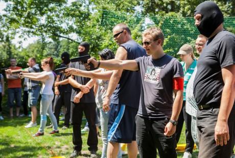 Teambuildingová aktivita - Veľká banková lúpež - Zanzara agentúra